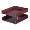 Carver Carver™ Hardwood Double Desk Tray CVR 02213