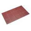 matting: Crown Safewalk™ Heavy-Duty Anti-Fatigue Drainage Mat