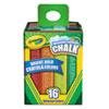 Crayola Crayola® Washable Sidewalk Chalk CYO 512016
