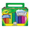 Crayola Crayola® Washable Sidewalk Chalk CYO 512048