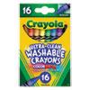 Crayola Crayola® Washable Crayons CYO 526916