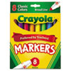 markers: Crayola® Non-Washable Marker