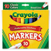 Writing Supplies: Crayola® Non-Washable Marker