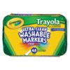 Crayola Crayola® Trayola™ Washable Markers CYO 588214