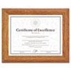 Ring Panel Link Filters Economy: DAX® Stepped Wood Finish Document/Certificate Frame