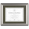 Dax DAX® Charcoal/Nickel-Tone Document Frame DAX N15783ST