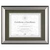 Dax: DAX® Charcoal/Nickel-Tone Document Frame