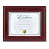 Dax DAX® Executive Mahogany Finish Document Frame DAX N15787NT