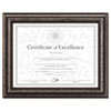 Dax DAX® Antique Brushed Charcoal Wood Finish Document Frame DAX N15790NT