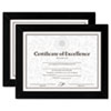 Dax: DAX® Wood Finish Document Frame Set