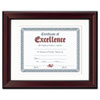 Ring Panel Link Filters Economy: DAX® Rosewood Finish Document Frame