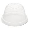 Dart Dart® Dome-Top Sundae/Cold Cup Lids DCC 12HDLC