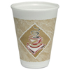 Dart Caf G™ Foam Hot/Cold Cups DCC 12X12G