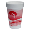 Dart Horizon® Hot/Cold Foam Drinking Cups DCC 16J16H
