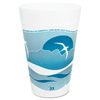 Dart Horizon® Hot/Cold Foam Drinking Cups DCC 32TJ32H