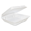 Dart Dart® Foam Hinged Lid Containers DCC 80HT1R