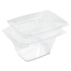 plastic containers: ClearPac® Clear Container Lid Combo-Packs