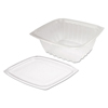 plastic containers: Dart® ClearPac® Clear Container Lid Combo-Packs