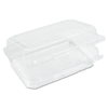 Dart: StayLock® Clear Hinged Lid Containers