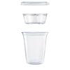 Dart Dart® Clear PET Cups DCC PF35C1CP