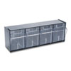 bins storage: deflect-o® Tilt Bin™ Horizontal Interlocking Storage System