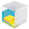 Desk Accessories and Workspace Organizers: deflect-o® Stackable Cube Desktop Organizer