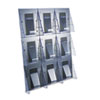 Ring Panel Link Filters Economy: deflect-o® Stand Tall® Multi-Pocket Wall-Mount Literature Systems