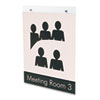 Deflect-O deflect-o® Classic Image® Single-Sided Wall Sign Holder DEF 68201