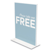 Deflect-O deflecto® Classic Image® Stand-Up Double-Sided Sign Holder DEF 69201VP