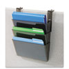 Deflect O: deflect-o® Docupocket® Three-Pocket File Partition Set with Brackets