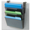 Deflect-O deflect-o® DocuPocket® Stackable Three-Pocket Partition Wall Set DEF 73504