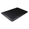 Deflect-O Anti-Fatigue Mat, 24 x 18, Black DEF AFP1824