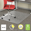 Deflect O: deflecto® EconoMat® Occasional Use Chair Mat for Commercial Flat Pile Carpeting