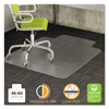 Deflect-O deflecto® DuraMat® Moderate Use Chair Mat for Low Pile Carpeting DEF CM13233COM