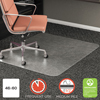 Deflect-O deflecto® RollaMat® Frequent Use Chair Mat for High Pile Carpeting DEF CM15443FCOM