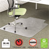 Clean and Green: deflect-o® EnvironMat Recycled Anytime Use Chair Mat