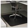 chair mats: deflecto® EconoMat® Non-Studded Anytime Use Chairmat for Hard Floors