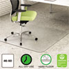 Clean and Green: deflect-o® EnvironMat Recycled Anytime Use Chair Mat for Hard Floor