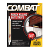 cleaning chemicals, brushes, hand wipers, sponges, squeegees: Combat® Roach Bait Insecticide