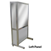 DiaMedical USA SimScreen Corner Simulation Panel - Portable Two Way Mirror for Observation (Left Panel) DIASC031102