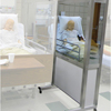 DiaMedical USA SimScreen Corner Simulation Panel - Portable Two Way Mirror for Observation (Right Panel) DIASC031103
