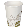 Clean and Green: Pathways™ 8 oz. Paper Hot Cups WiseSize