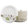 disposable dinnerware: Pathways™ Heavyweight Paper Plates 10.125""