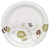 "disposable dinnerware: Pathways™ 5.875"" Paper Plates Wise Size"