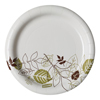 "disposable dinnerware: Pathways™ 6.875"" Paper Plates WiseSize"
