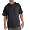Dickies Mens Short Sleeve Tee Shirts, Two Pack DKI 1144624-CH-L