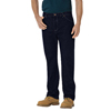 Dickies Mens Regular-Fit Straight Fit 6-Pocket Jeans DKI 14293-RNB-42-30