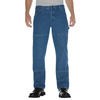 workwear jeans: Dickies - Men's Relaxed-Fit Double-Knee Carpenter Jeans