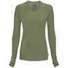 workwear large: Cherokee - Women's Infinity® Long Sleeve Underscrub Knit Tee