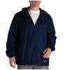Dickies Mens Fleece-Lined Hooded Nylon Jackets DKI 33237-DN-2X